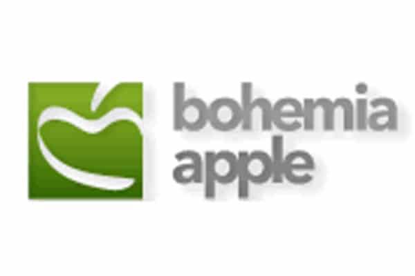 logo bohemia apple wine travel in cz